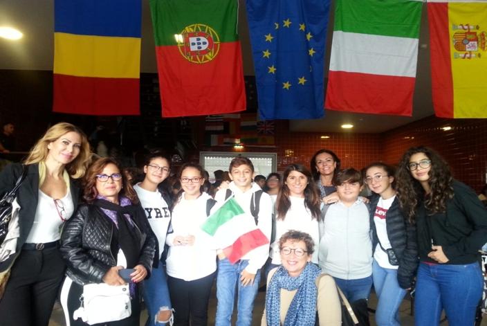 """La scuola """"Francesco Riso"""" in Portogallo con un progetto Erasmus"""