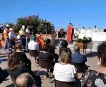 Centinaia di persone al funerale dell'ex vicesindaco Angelo Mannino