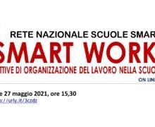 Meeting on-line sullo Smart Working a scuola organizzato dalla Rete Nazionale Scuole Smart